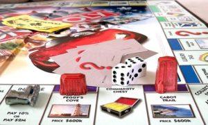 Jugando Monopoly en cuarentena