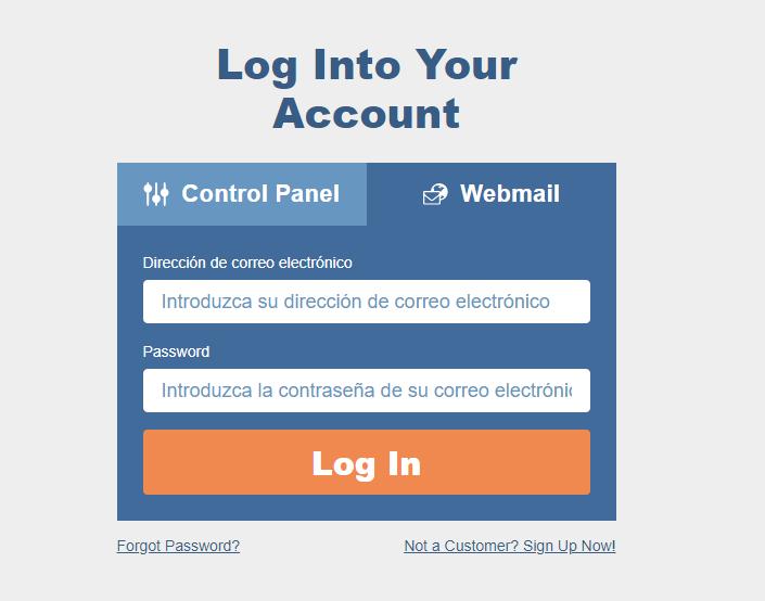 Correo electrónico Corporativo página web - webmail